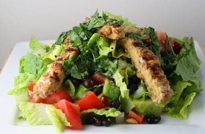 Southwestern Salad with Tempeh
